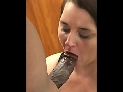 Wifey k doing what she does best, big black cock 1. part