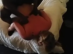 Bbw wife gets a total big black cock whore