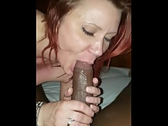 Hotwife worships big black cock on the first date