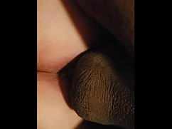 Anal wife takes big black cock