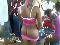 African girls outdoor sex