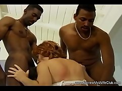 African-american couple, swinger