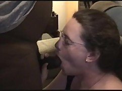 Mature wife messing around with a big black cock