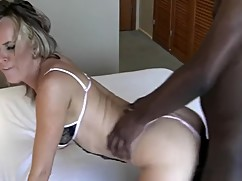 Hot wife hotel big black cock husband