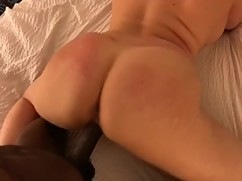 Big black cock fucking a sexy blond (hottwife09)