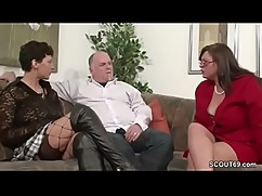 German milf show some, that is a good threesome