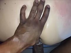 Cheating white wife loves black dick