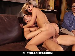 Shewillcheat - cuckold watch his wife pussy destroyed
