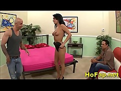 Wife revenge fuck a porn star in front of her husband