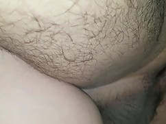My wife is making a big cock really creampie