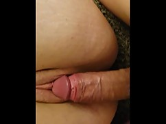 Big black cock cheating wife makes husband fuck a sperm filled pussy