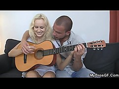 He doggystyled lovely czech blonde as her bf left