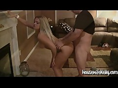 Wife threesome with hot young blonde 2