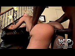 Wcpclub stunning blonde annika albright housewife cuckold with a big black man