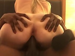 Amber heard (hottwife09) loves the black cock, sticks