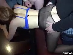 Wife gets drunk and cheats half