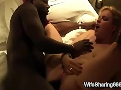 Sexy german woman gets anal cream pie by a big black cock chubby