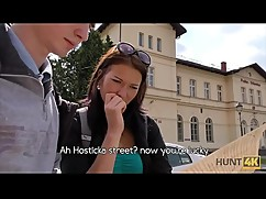 Hunt4k. hot fucking money in the capital of the czech republic