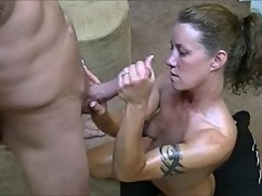 Hotwife gives 2 the war of the husband when i say no gangbangs