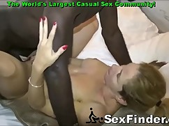 Man movies big tit wife fucked by a big black cock