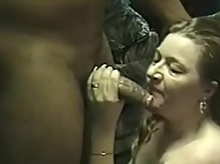 Insatiable hot wife enjoying her first big black cock encounter