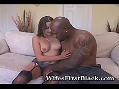 Wife riding the big stranger cock
