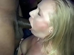 Wife sucking * * d by a big black cocka™ *mounting mounting