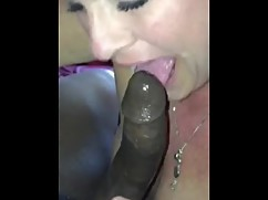 Married mature wife blows a big black cock