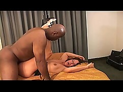 Sexy mature latina woman, which is divided into a hot threesome interracial