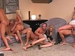 Husband and wife fucking with her friends partner