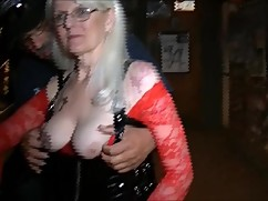 Arizona hotwife parties at a bar in tucson
