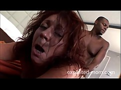 Mature pierced milf gets fucked by a big black dick in hot mom porn video