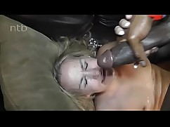 Blonde milf fuck and get a facial swimming pool black e. (name?)