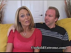 Seductive cougar feasts young cock