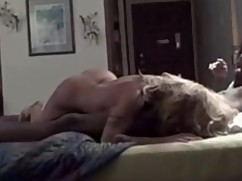 Blonde hotwife cums and then gets seeded by a big black dick