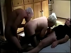 Mature wife sucking a good cock