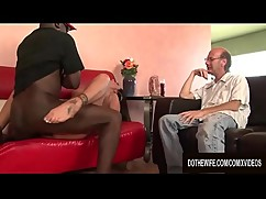 The black column in line to make his cousin refers to his wife nikita denise with his tongue and cock