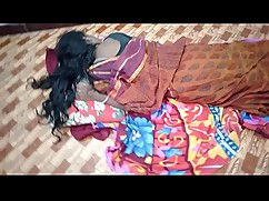 Indian house wife and sleep with her husband friend when her husband is sleeping deeply