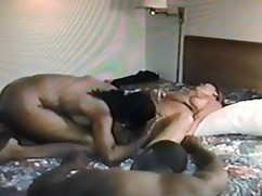 My husband looks at his wife, who are used as sex toys, horny couple, black