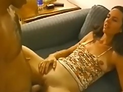 Real wife gets creampie from stranger to fine a husband