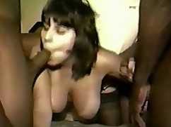 Video old wife gloria's first gangbang movie