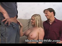 Husband approves of sharing his wife