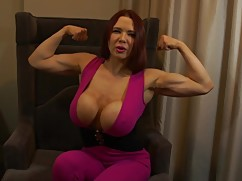Cucked muscles woman