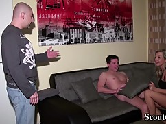 I caught a young man with his wife and german big cock killer