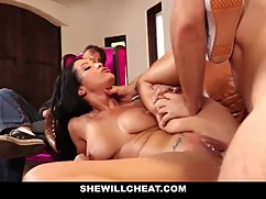 Shewillcheat - knit women, old cheat her husband with a new cock